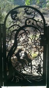 wrought iron garden gate decorative metal garden gates metal art gate custom wrought iron steel wrought iron garden gate