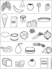 Small Picture Food Group Free Coloring Pages on Art Coloring Pages