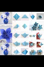 How To Make Origami Paper Flower Quick Step By Step Origami Paper Flower