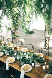 rustic wedding table green table settings rustic wedding round table decorations