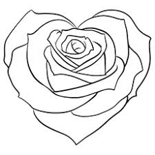 Small Picture hearts and roses coloring pages pictures picture tags heart