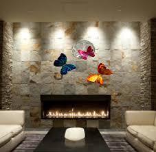 wilmos kovacs abstract metal sculpture rainbow erfly wall art decor w923