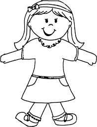 Flat Stanley Printable Best Photos Of Printable Flat Stanley Template Girl Flat