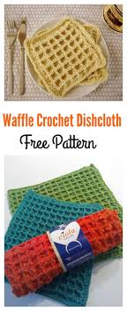Waffle Pattern Crochet Magnificent Decorating Ideas