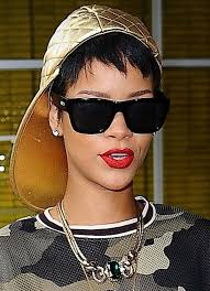 Rhianna Hair Style lets check in on rihannas new short hairstyle shall we glamour 4014 by wearticles.com
