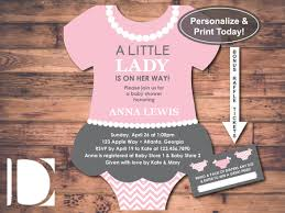 Onesie Baby Shower Invitations 11 Onesie Invitation Templates Free Sample Example Format
