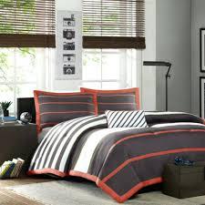 orange blue green comforter grey duvet cover set the home decorating company bedding
