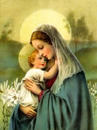 Image result for to jesus through mary image