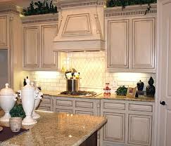 rustic white kitchens. Cool White Kitchen Cabinet U203a Distressed Antique Cabinets Rustic Kitchens