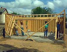 garage door headerHOMETIME HOW TO Garages  Framing Walls