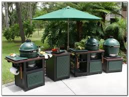 astonishing outdoor kitchen island green egg set home pics of