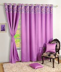 Lilac Bedroom Curtains Home Decor Faux Silk Window Drape Panel Bedroom Blackout Eyelet