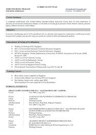 Fabricator Welder Sample Resume | Cvfree.pro