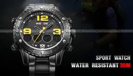 discount men watches usa 2017 whole men watches usa on usa style cool black analog digital clock full stainless steel multifunction mens watches special forces military wrist watch men backlight
