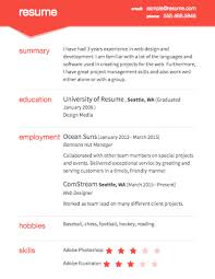 Resume Online Template Classy Resumes On Free Resume Template Resume Online Template Keithhawleynet