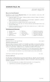 Objective In Resume Nurse Best of Objective For Rn Resume Graduate Nurse New Registered Info
