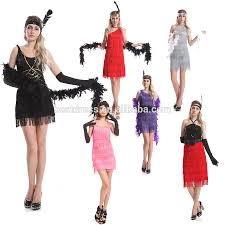 1920s Fashion Red Fashion Flapper Ladies Fancy Dress Great Gatsby Womens 1920s Flapper Dress Buy 1920s Flapper Dress Fancy Dress Costume Adult Costume Product On