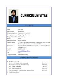 Contoh Curriculum Vitae 20 Vitae 001 Facile Therefore Scholarship ...