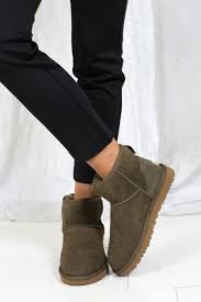 ... uggs classic mini boots green two angels ...