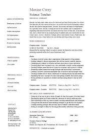 Teaching Professional Resume Job Resumes Templates Teaching Format ...
