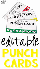Free Punch Cards Template Free Punch Card Template Gildenlow