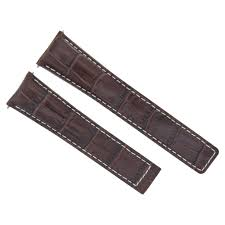 details about 19mm leather strap band for tag heuer carrera wv2116 brown ws 3t fit fc5014