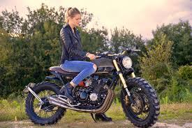 yamaha xj400 scrambler by entrophy motorbike bikebound