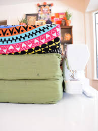 How to Make Outdoor Slipcovers From Beach Towels   how-tos   DIY