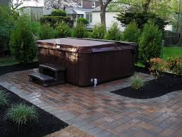 Hot Tub Backyard Ideas Plans Simple Decoration