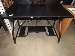 Computer Desk Home Origami Rde 01 Black Computer Desk Home Office Furniture Ebay