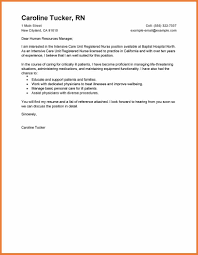 Example Of Nursing Cover Letter Sample Nursing Cover Letter Sop Proposal 22