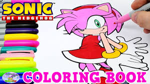 Small Picture Sonic The Hedgehog Coloring Book Amy Rose Episode Speed Coloring