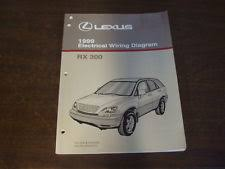rx 300 service manual 1999 lexus rx300 rx 300 electrical wiring diagram service repair manual