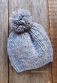 Easy Knit Hat Pattern Circular Needles