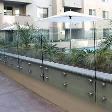 glass fence around pool glass pool fence glass pool fence cost brisbane