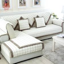 sectional sofa covers white grey plaid plush long fur sofa cover slipcovers sofa sectional couch covers sectional sofa