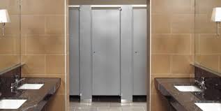 Stainless Steel Bathroom Stalls Painting Unique Decorating