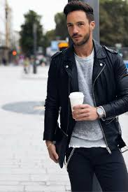 Best 25 Leather Jacket Man Ideas On Pinterest Mens Biker Jacket