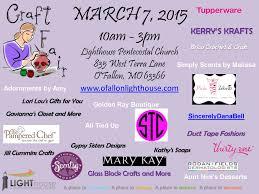 lighthouse th annual sunday school craft fair craft fair flyer 2015 vendors