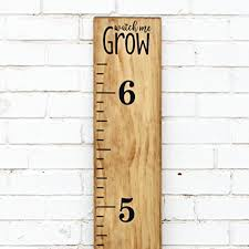 Vinyl Growth Chart Diy Vinyl Growth Chart Ruler Decal Kit Watch Me Grow