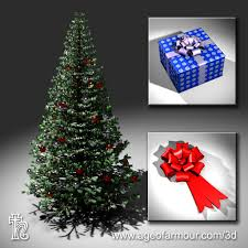 Age Of Armour Free 3d Christmas Tree Model For Poser And Daz Studio