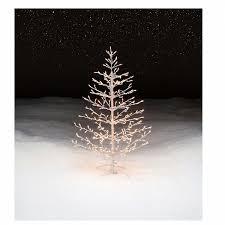 trim a home 4 5 pre lit christmas stick tree shop your way