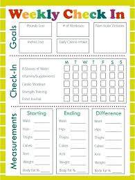 Diet Workout Journal Fitness Diary Template Metabots Co