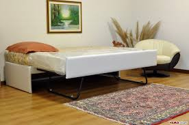 Doppio letto singolo estraibile a scomparsa con reti a doghe