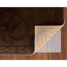 premium 5 ft x 7 ft non slip rug to floor gripper pad
