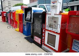 Newspaper Vending Machine Locations Impressive Row Of Newspaper Vending Machines Stock Photo 48 Alamy