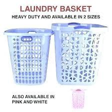 Pink Plastic Laundry Basket Best Pink Plastic Laundry Basket Purple Baskets Bin Bag Washing Hamper