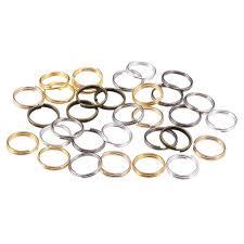 <b>200pcs</b>/<b>lot</b> Gold Silver Loop 4 5 <b>6 8 10</b> mm Open Jump Rings for DIY ...