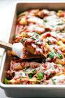 baked sausage stuffed jumbo pasta shells