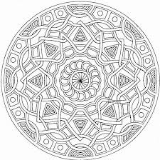 Small Picture Coloring Pages Mandalas Geometric Maelukecom